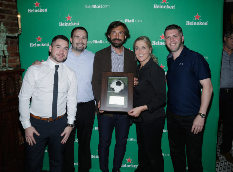 Pictures andrea pirlo meet and greet at mchales bar in nyc pictures andrea pirlo meet greet at mchales bar m4hsunfo